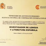 Наталья сертификат преподавателя языковой школы